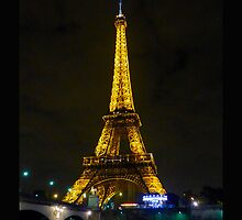 The Eiffel Tower by cammisacam