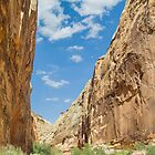 Capitol Gorge in Capitol Reef NP by Kenneth Keifer