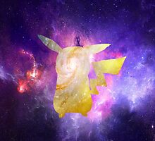 Galaxy Pikachu by BrittanyPurcell