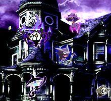 ghost mansion by vitXras