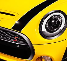 Mini Cooper S car detail closeup art photo print by ArtNudePhotos