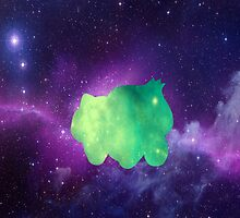 Galaxy Bulbasaur by BrittanyPurcell