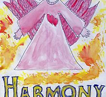 Angel of Harmony & Love by caraemoore