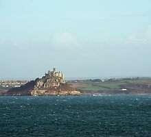 View of St Michaels Mount by photoeverywhere