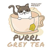 Purrl Grey Tea by firewhiskey