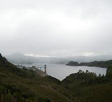 lake gordon power station by photoeverywhere