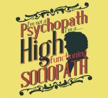 Sherlock - High Functioning Sociopath by metacortex