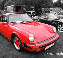 Red Porsche by MetamorphosisRS