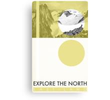 Explore The North Canvas Print