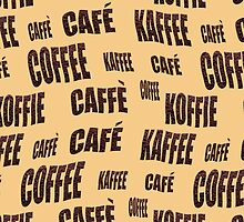 Multi-lingual coffee wallpaper by funkyworm