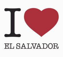 I ♥ EL SALVADOR by eyesblau