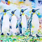 POKER of PENGUINS by lautir