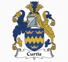 Curtis Coat of Arms / Curtis Family Crest by William Martin