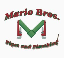Mario Bros Pipes and Plumbing by crazycowboy557