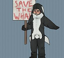 Save the Whales Cas by yourebossy