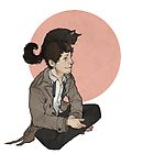 cas and kitty by Cesca N