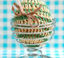 Crochet Egg by 416studios
