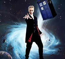 Peter Capaldi as the 12th Doctor  by emilymariee8