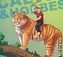 Calvin & Hobbes BADASS by tohad