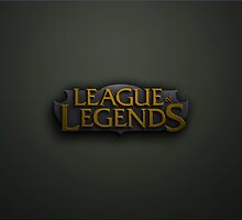 League of Legends Full logo phone case by QuiBono