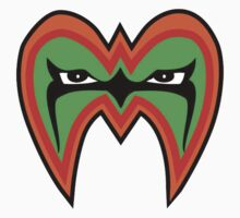 Ultimate Warrior Face Design by icwkev