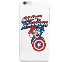 Cap'n America iPhone Case/Skin
