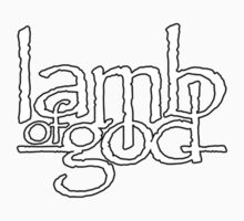 Lamb Of God Band Classic Logo by icwkev