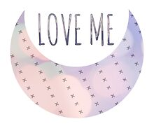LOVE ME moon bokeh sticker by scarletprophesy