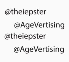 TheIepster and AgeVertising Stickers by iepster