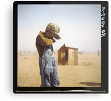Farmer's Son, Dust Bowl, 1936 Metal Print
