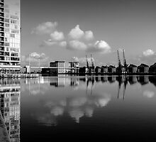 London Reflection by andyvhyde