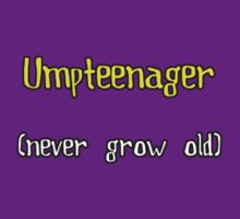 Umpteenager - Small Text by jefph