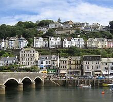 Looe, Cornwall - sunny day #1 by Antony R James