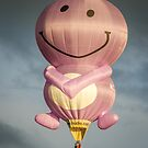 Smile  its   Canberra  Balloon Spectacular 2014  by Kym Bradley