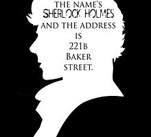 The Name's Sherlock Holmes by ItsSabYo