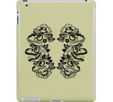 Dinosaur Shirt - Raptor Stack iPad Case/Skin