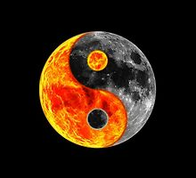 "Ying Yang ""Sun and Moon"" by mhykel"