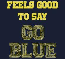 GO BLUE Kids Clothes