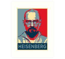 Walter White a.k.a. Heisenberg Art Print