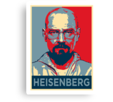 Walter White a.k.a. Heisenberg Canvas Print
