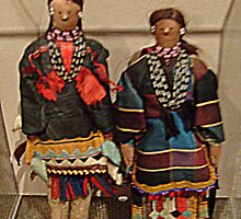 Beautiful Handmade Dolls from the Sac-Fox Tribe by Jane Neill-Hancock