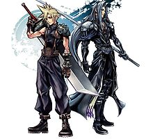 Sephirot and Cloud cover by rising94