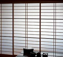 japanese paper screen by photoeverywhere