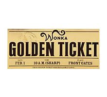 Golden Ticket by xox-
