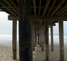 Underneath Cayucos Pier by photoeverywhere
