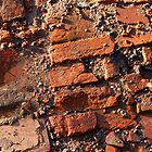 Jumbled Red Brickwork by Andy Merrett