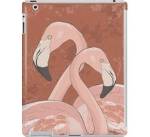 Artistic flamingos iPad Case/Skin