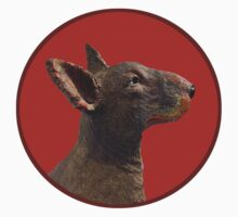 English Bull Terrier Dog by ahsdesign