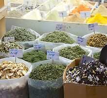 Doha Spice Souk by Mike Rivett