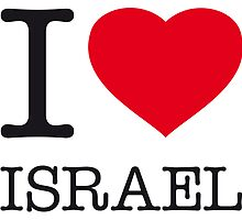 I ♥ ISRAEL by eyesblau
